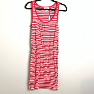 NWT Vineyard Vines Pink and White Dress Size Small